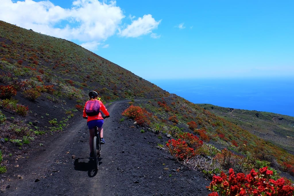MTB 01. Land of volcanoes and wine | 55€ | Includes: MTB + Guide